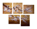 Designer  Multipanel Oil Painting 17