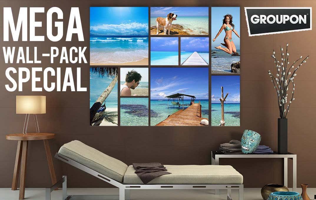 Mega Wall-Pack Special from Groupon