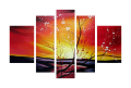 Designer  Multipanel Oil Painting 28