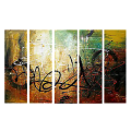 Designer  Multipanel Oil Painting 303
